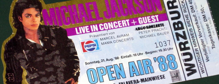 Michael Jackson Open Air '88