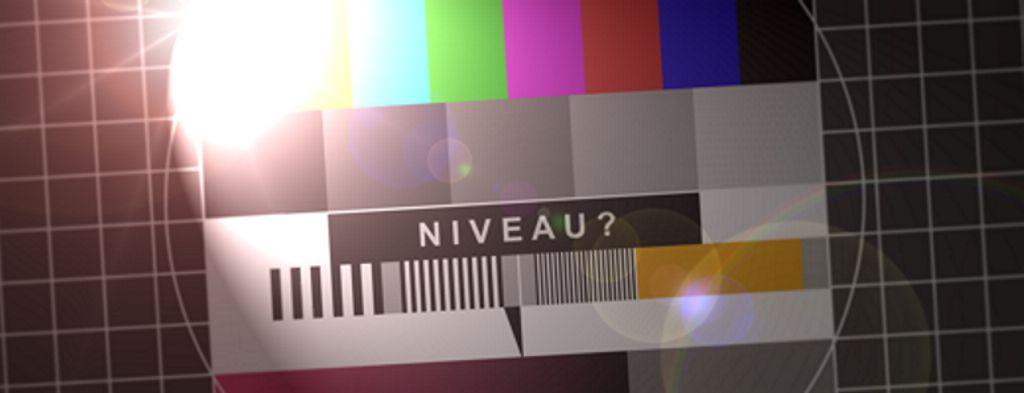 TV-Terstbild: Niveau?
