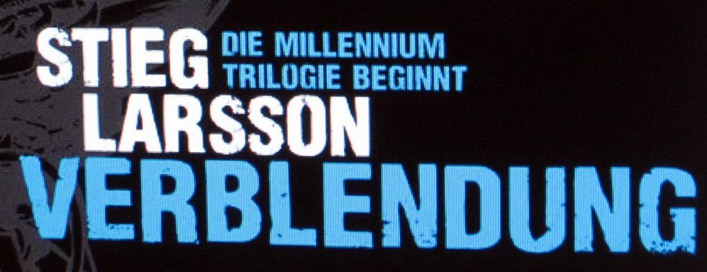 Verblendung - Millenium Trilogie