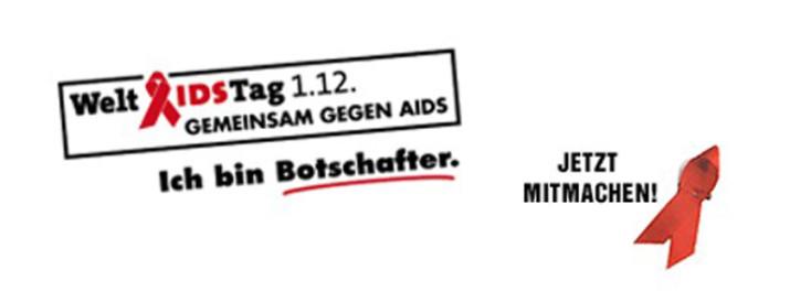 Werde Botschafter für den Welt-AIDS-Tag!