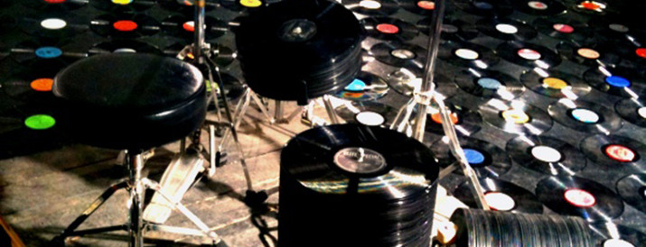 Vinyl-Drums