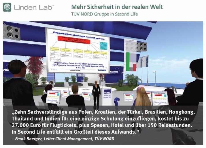 Fallstudie Second Life: Mehr Sicherheit in der realen Welt