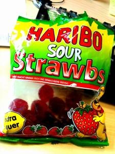 Haribo Sour Strawbs