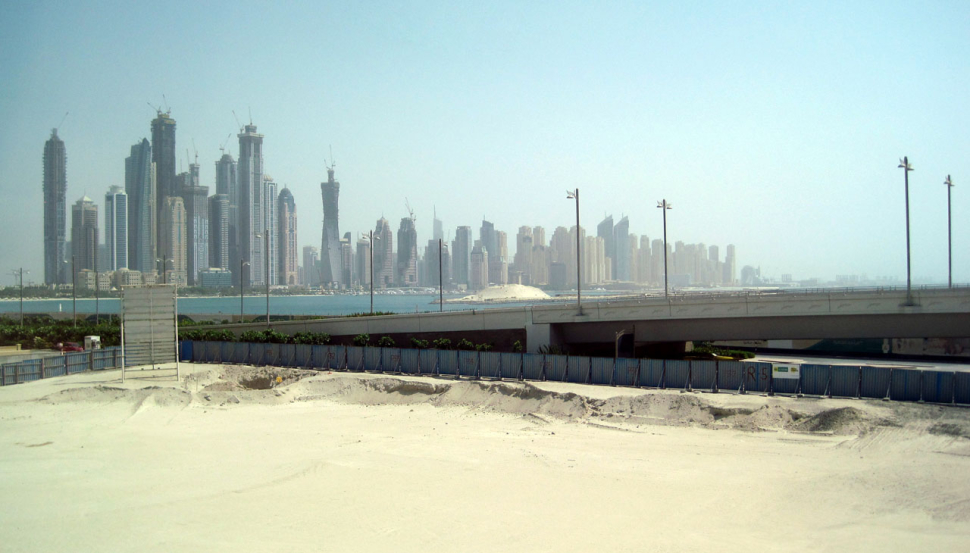 Bauwahn in Dubai