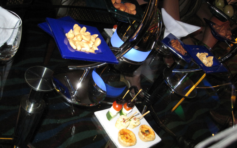 Amuse-Gueule in der Skyview Bar