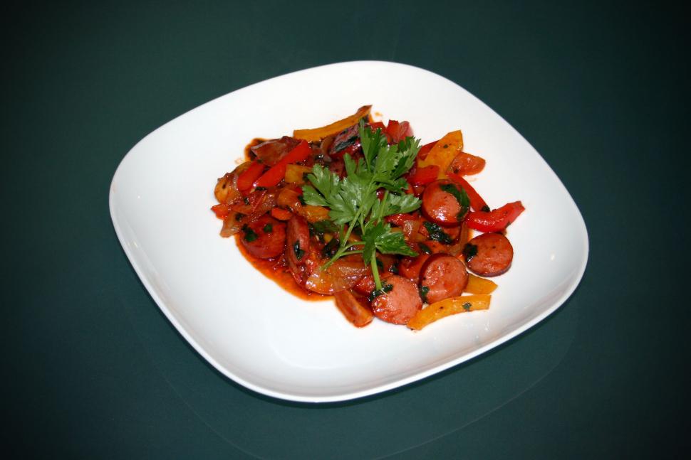 Currywurst Puszta-Style