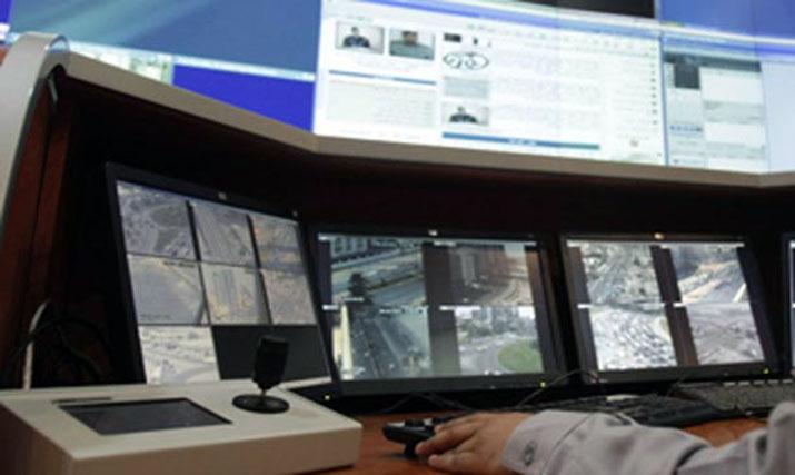 Verkehrsüberwachung in Abu Dhabi