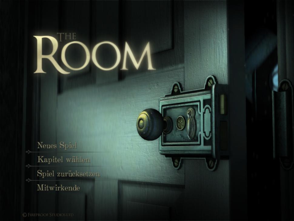 iPad-Screenshot: The Room