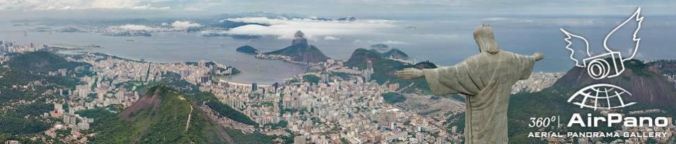 Christ the Redeemer Statue, Rio de Janeiro, Brazil (© AirPano.com)