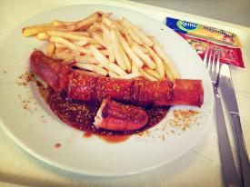 Currywurst von apetito Catering