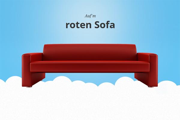 Aufm roten Sofa