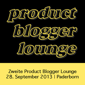 Zweite Produkt Blogger Lounge