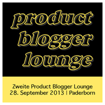 2. Product Blogger Lounge / 28. September 2013 in Paderborn