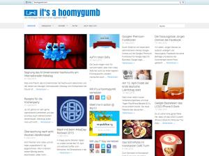 hoomygumb.com Grid-Layout