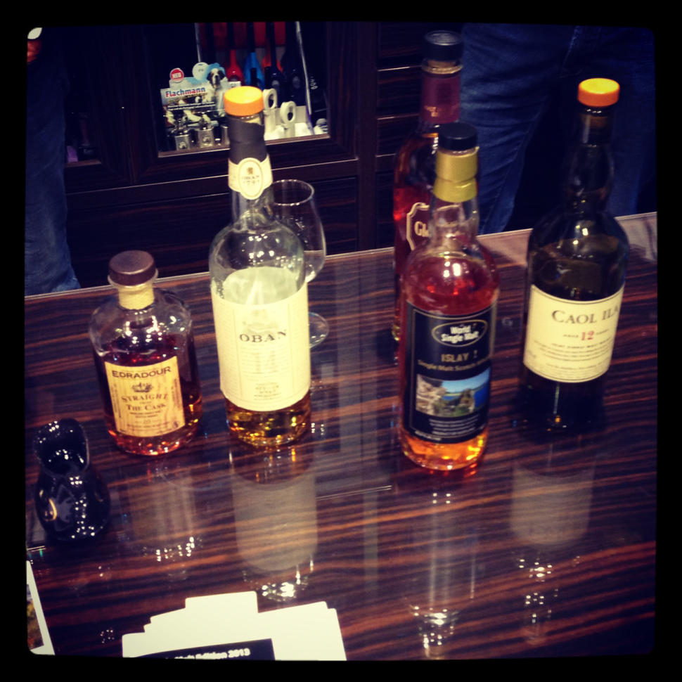 Whisky Verkostung bei Tabak Werner