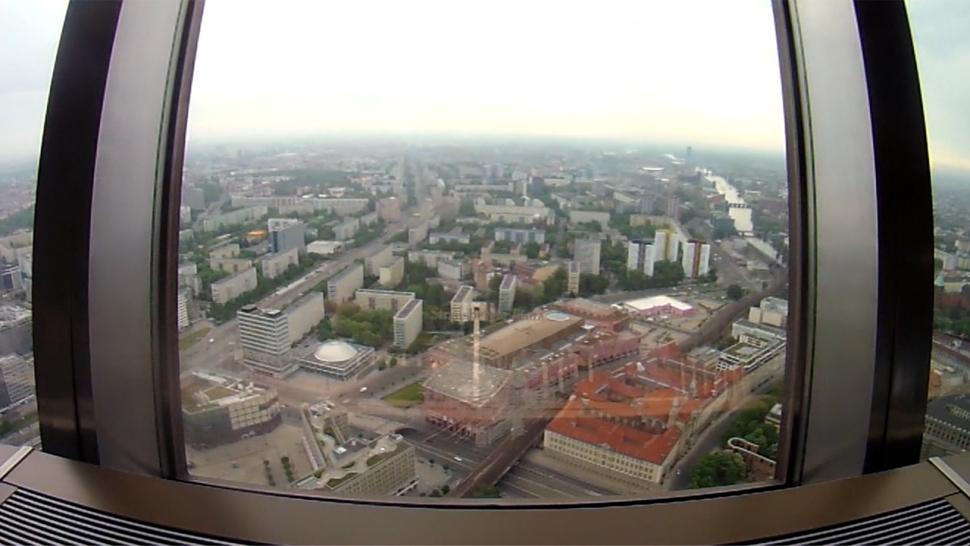 Ausblick vom Berliner Fernsehturm
