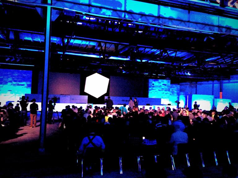 Kurz vor der Eröffnung... #rp13