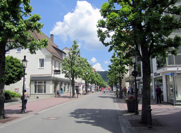 Fußgängerzone Tuttlingen
