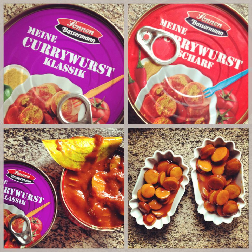 Sonnen Bassermann Meine Currywurst