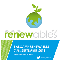 2. Barcamp Renewables 2013 / 7.-8. September 2013 in Niestetal bei Kassel | #bc_renew