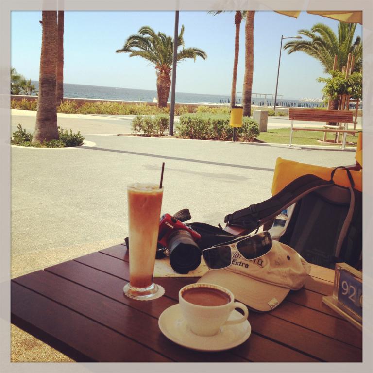 Kaffeepause in Limassol
