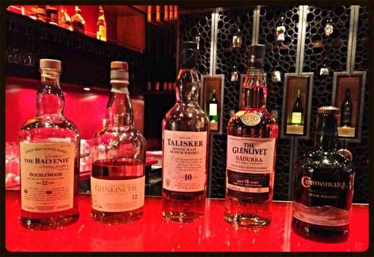 Whisky-Verkostung auf der AIDAdiva