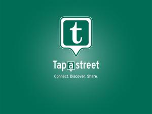 Taptastreet Startbildschirm