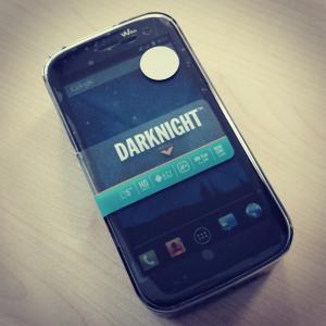 Wiko Darknight in der Verpackung