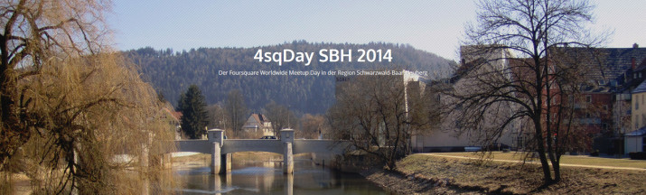 4sqDay SBH 2014 in Tuttlingen
