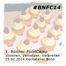 1. Bonner FoodCamp 2014 / 15. Februar 2014 in Bonn | #bnfc14