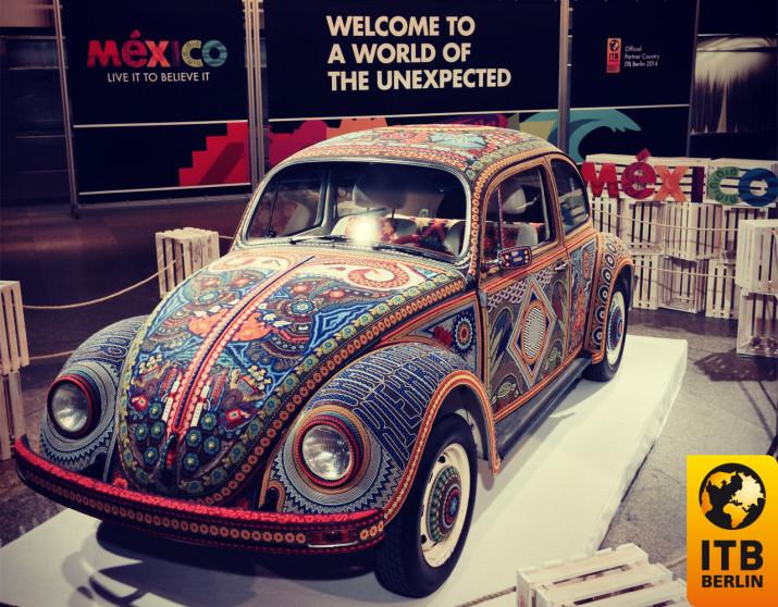 VW Käfer des Partnerlandes Mexiko