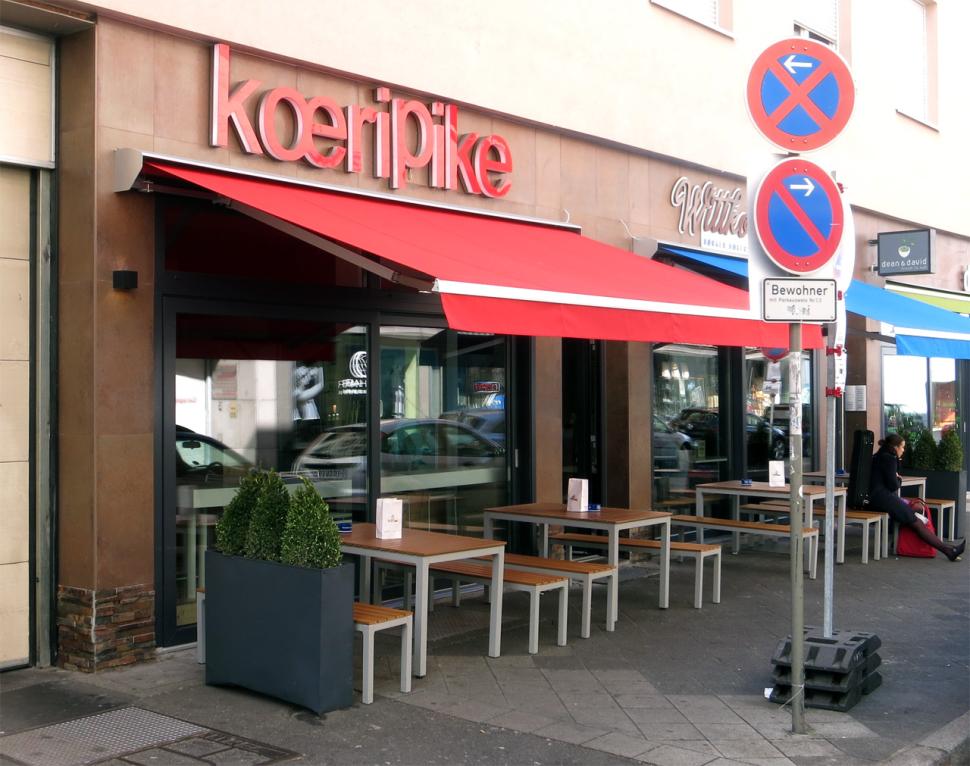 Koeripike in Mannheim