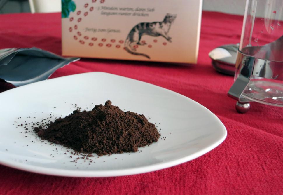 Kopi Luwak Kaffeepulver