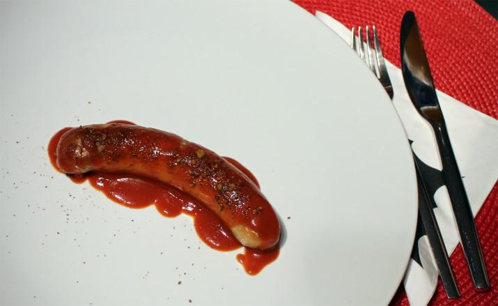 Lakritz-Currywurst