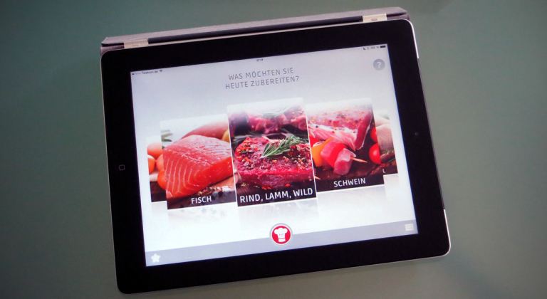 Cuciniale GourmetPilot auf dem iPad
