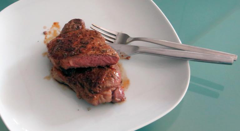 Zubereitetes Roastbeef
