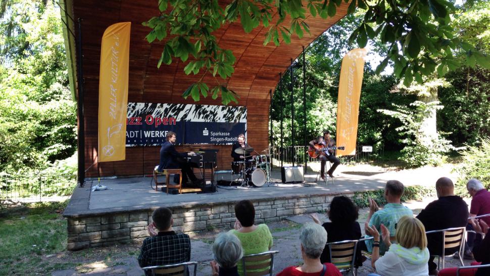 Jörg Enz Organic Trio Live in Concert