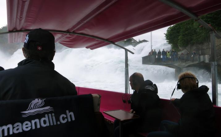 Rheinfall vom Boot