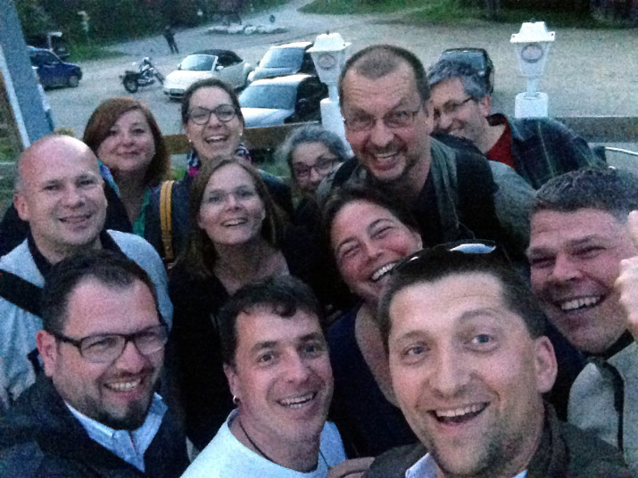 Teilnehmer-Selfie