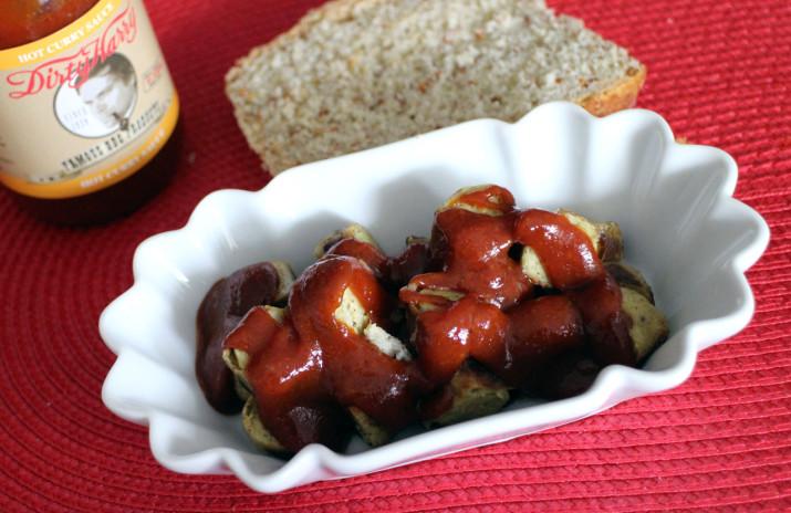 Vegane Curry-Tofubräterle