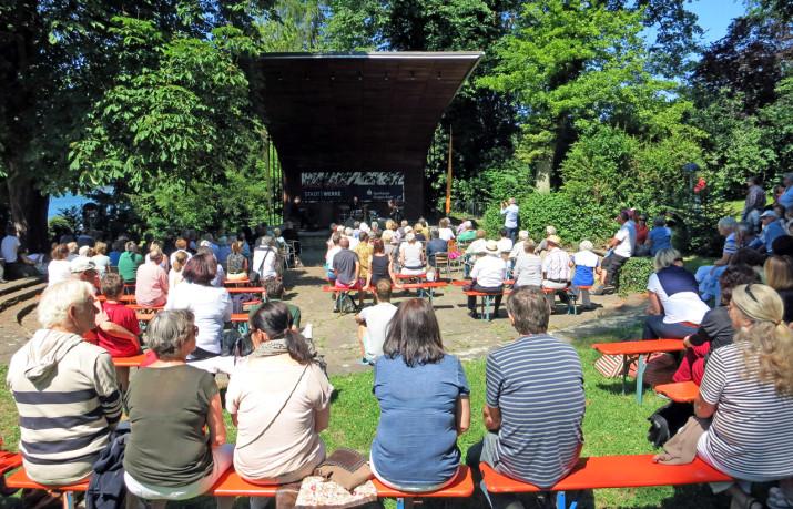 Zeller Kultur an der alten Konzertmuschel