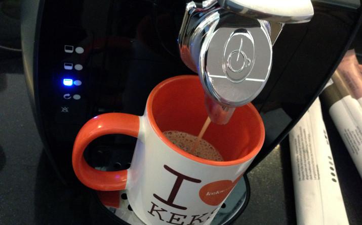 Der Kaffee läuft!