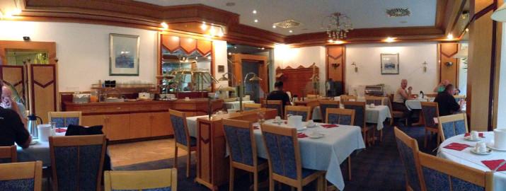 Frühstücksraum Hotel Waldhorn