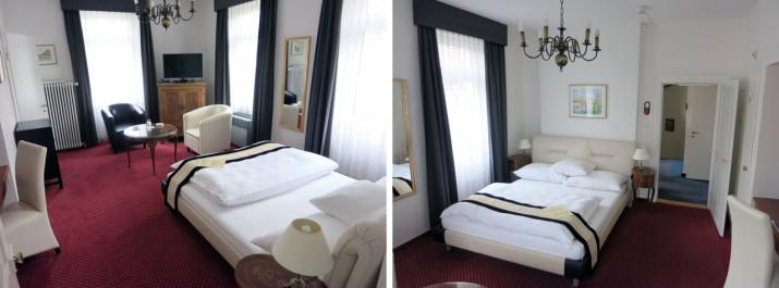 Claridge Hotel Zürich: Zimmer 206 (Teil 1)