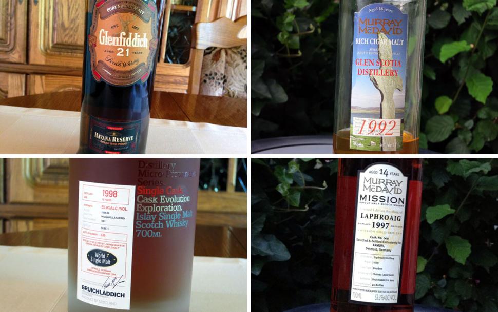 Whisky-Lineup beim #whiskyUDO