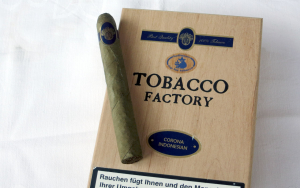 Tabaco Factory Corona Indonesian