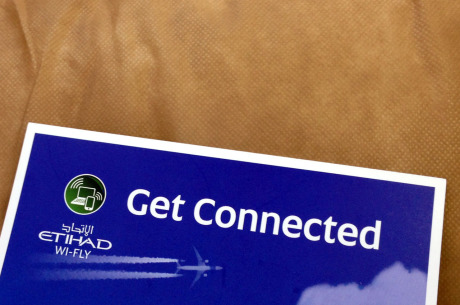 Get connected mit Etihad Wi-Fly
