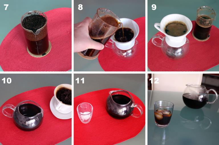Anleitung Cold Brew Kaffee Teil 2