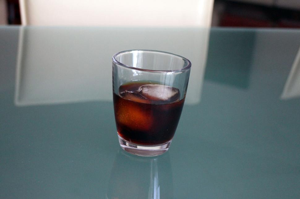 Cold Brew Kaffee auf Eis