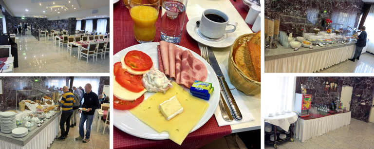 Frühstück im Novum Unique Hotel